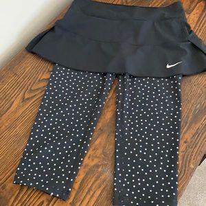 Nike golf/tennis skort with leggings